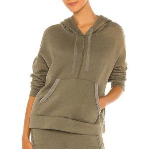 NWT Free People Movement Green Work It Out Hoodie